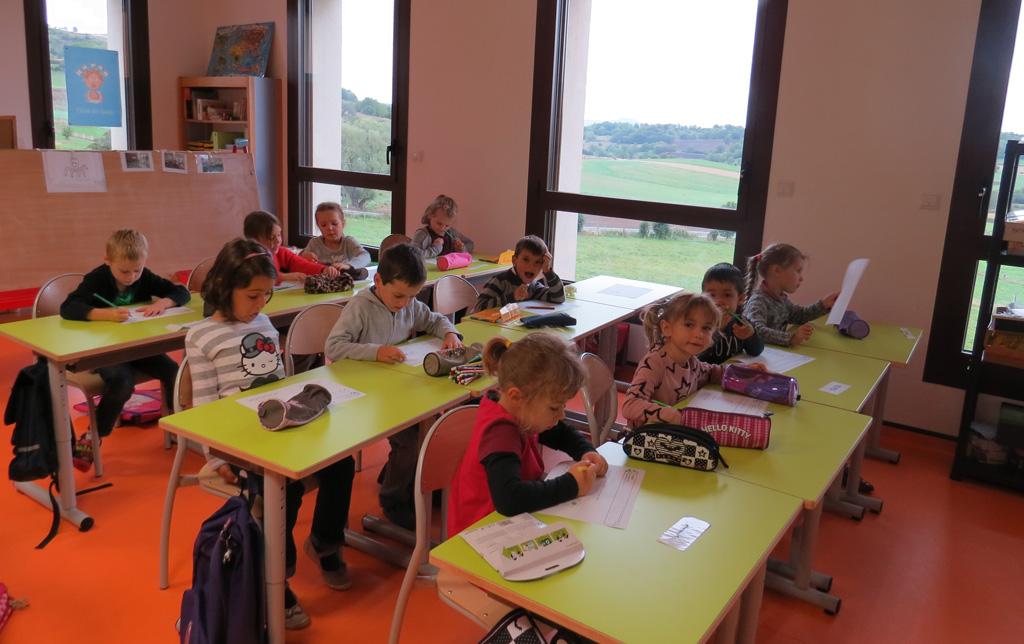 Les locaux : classe de CE1