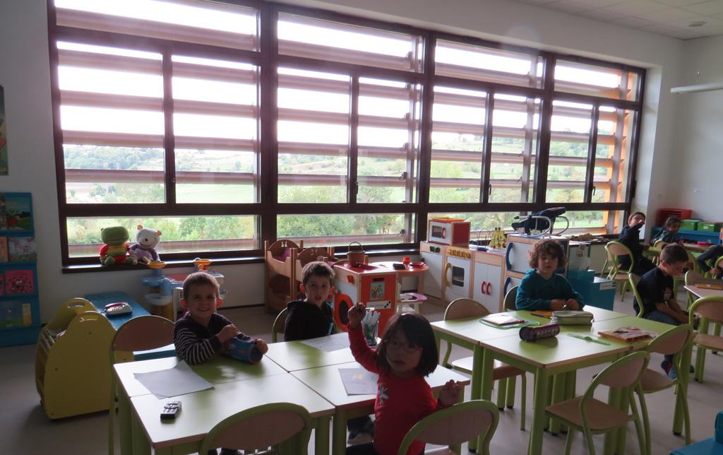 Les locaux : classe de maternelle