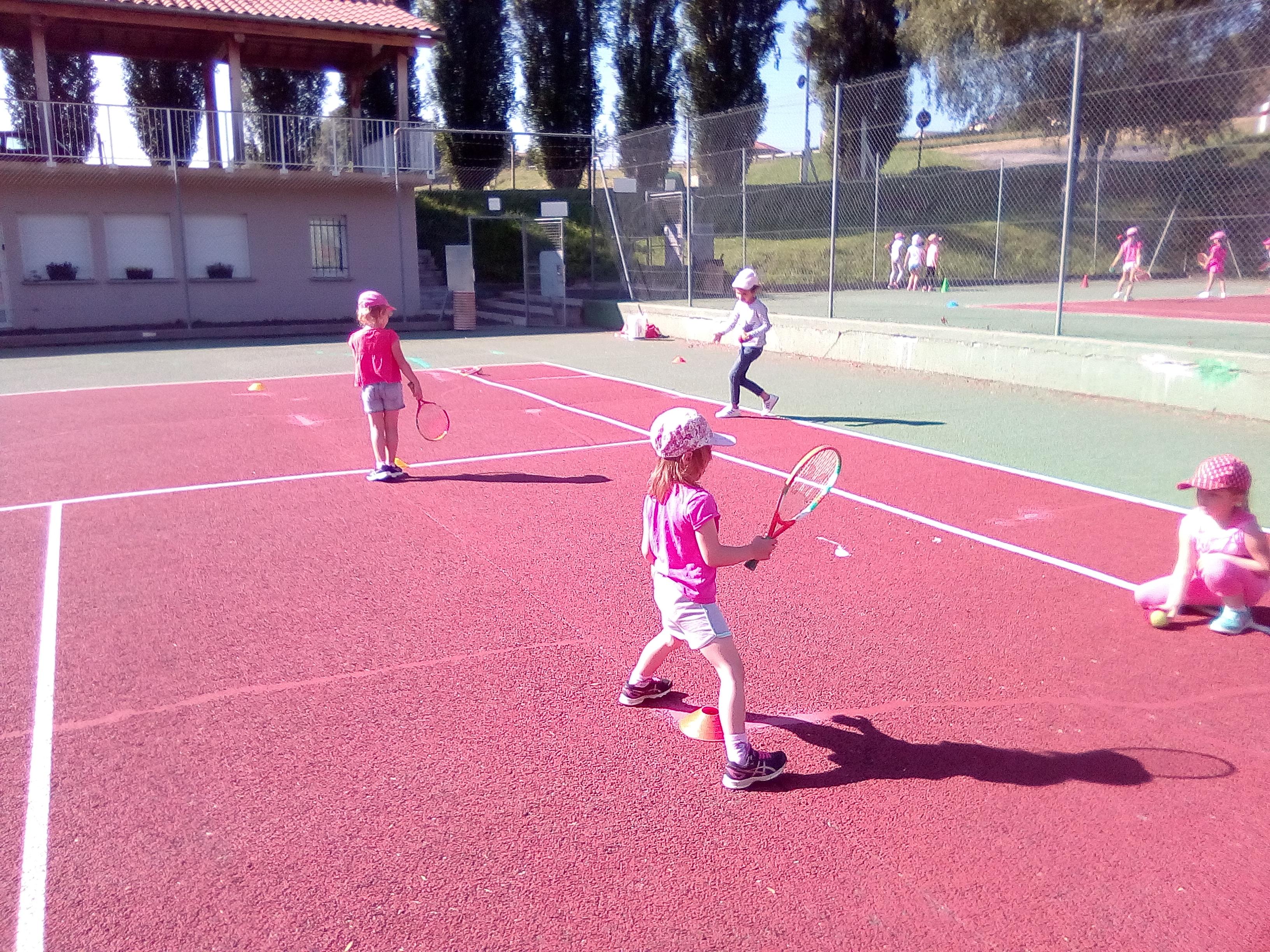 Initiation tennis